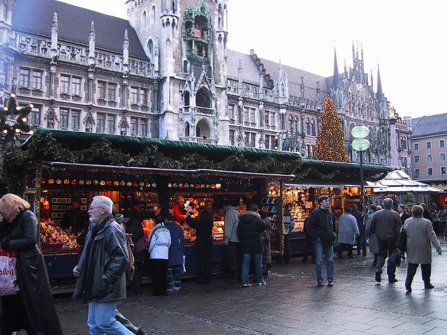■ミュンヘンのクリスマスバザール2