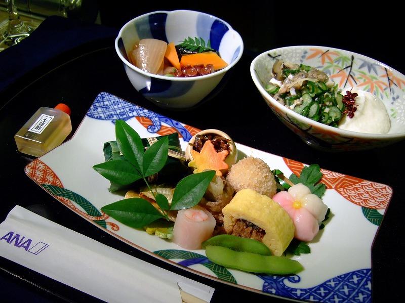 ■ ANA機内食+α