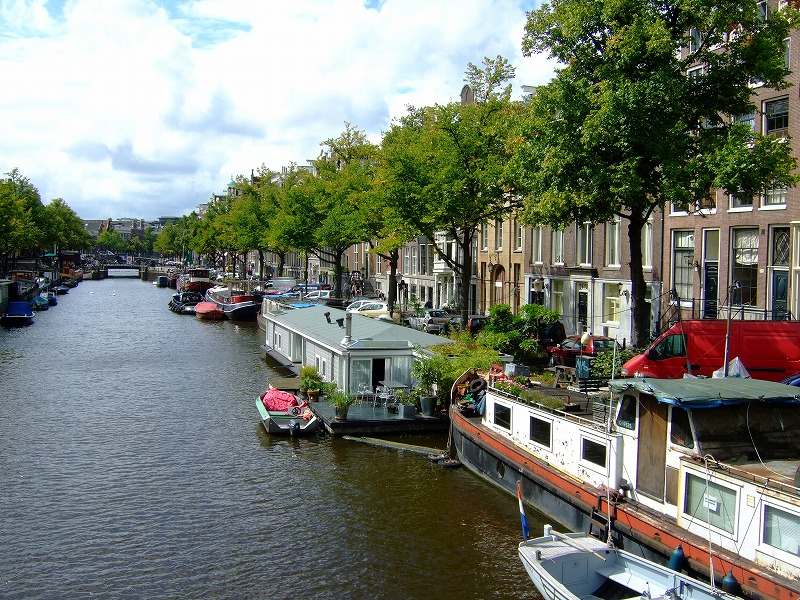 ■ アムステルダムの街 散策