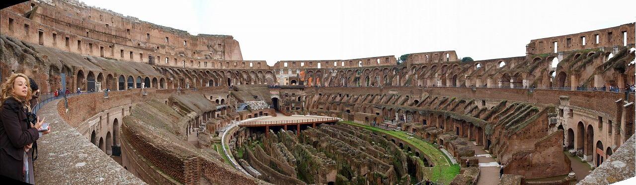 ■ コロッセオ 円形闘技場 イタリア・ローマ