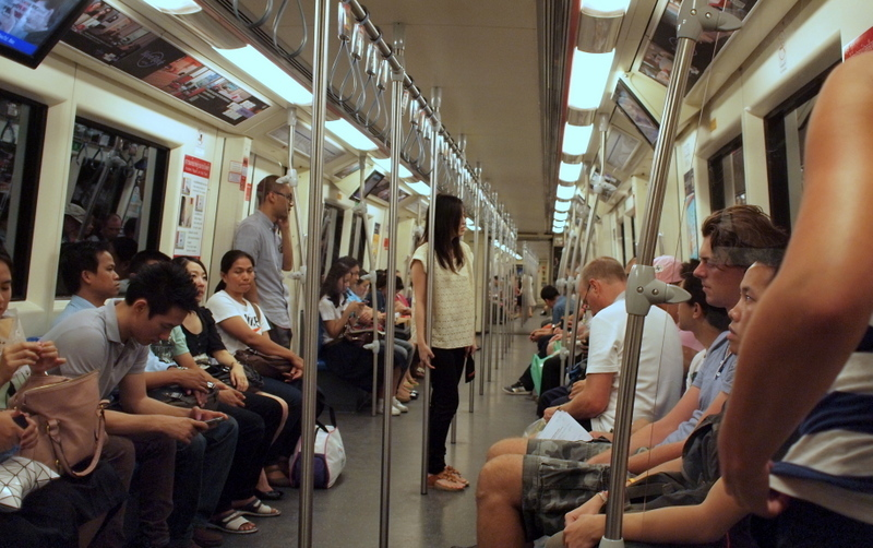 ■ まさいさん、地下鉄に乗る。(バンコクで)