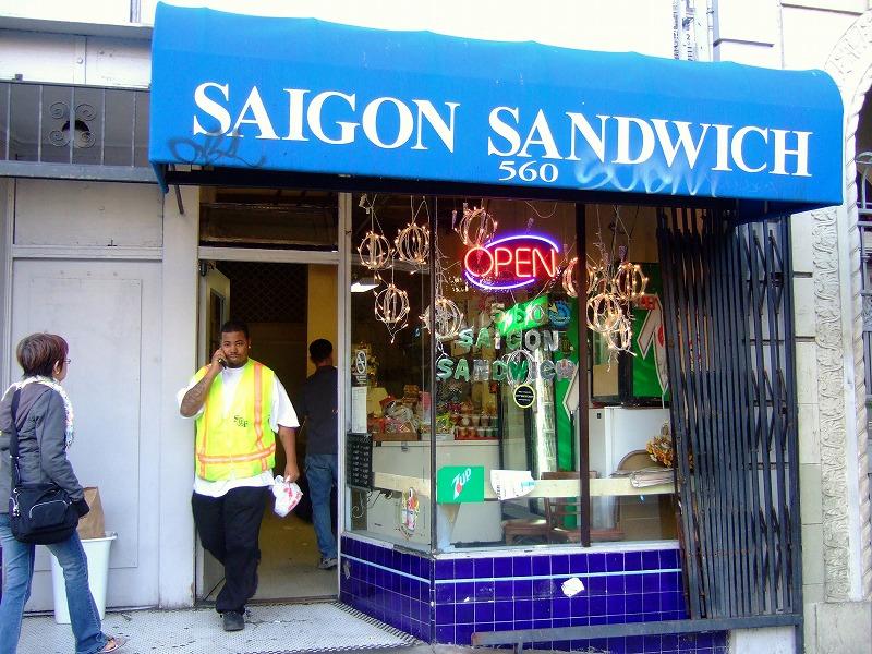 ■ Saigon Sandwich サンフランシスコ