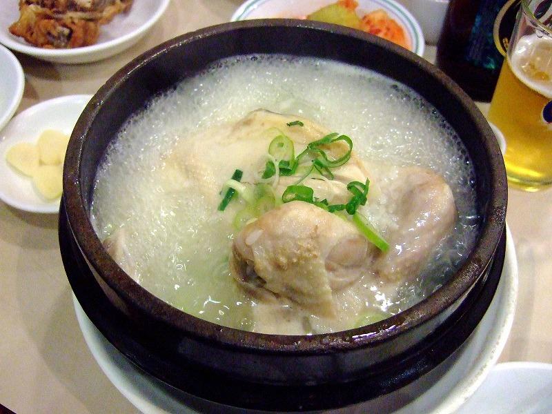 ■ 長安参鶏湯 サムゲタン ソウル・市庁舎前