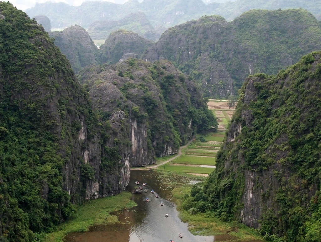 ■ Tam Coc View Point / Ninh Binh / Vietnam
