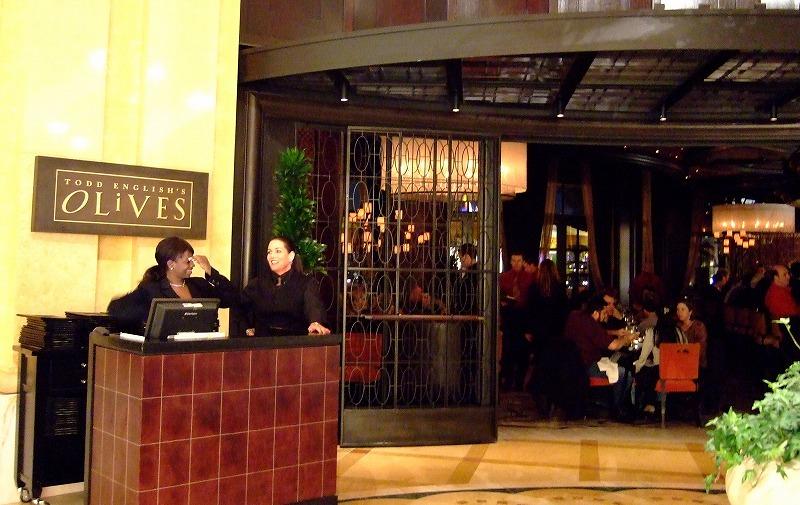 ■ OLIVES イタリアン 米国・ラスベガス・BELLAGIOホテル