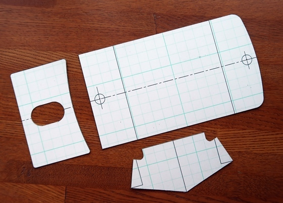 B型コインケース3号型紙