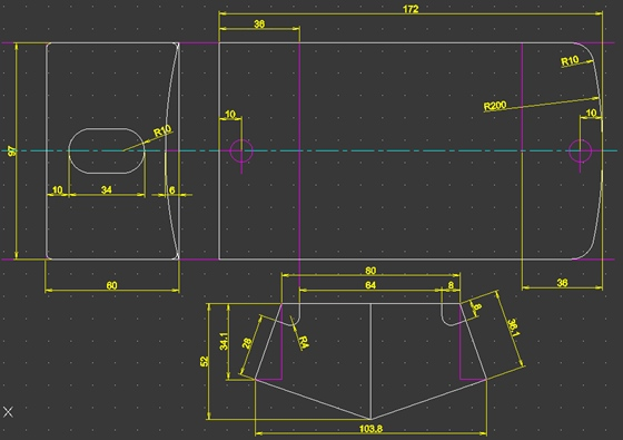 B型コインケース3号設計図