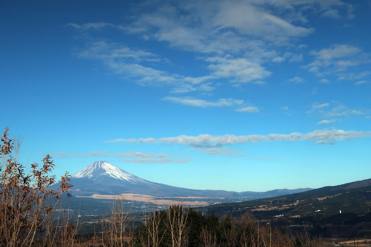 正月の富士山