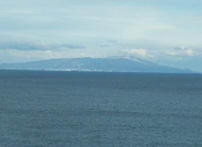 はっきり見えた大島