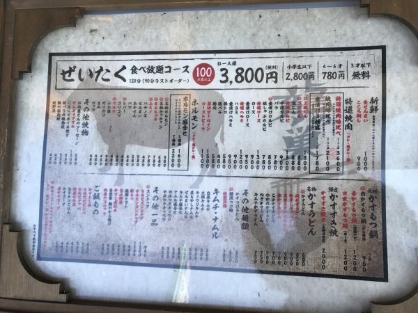 龍の巣 ヒルステップ生駒店 ランチ (5)