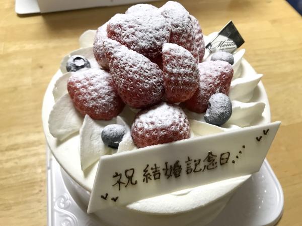 パティスリーモリタ イオンモール四條畷店(結婚記念日6周年ケーキ) (5)