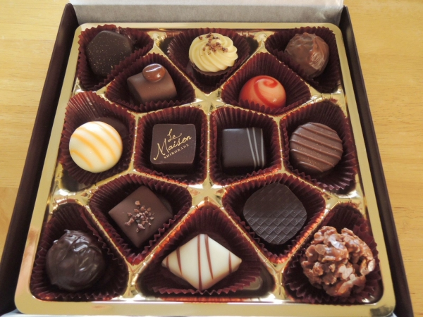 ラ・メゾン白金 デセールショコラ ジェイズ 山田さんからのチョコレート (5)