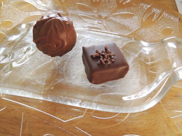 ラ・メゾン白金 デセールショコラ ジェイズ 山田さんからのチョコレート (1)