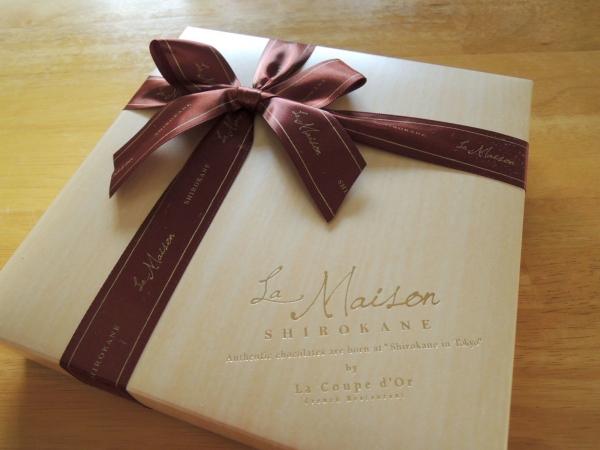 ラ・メゾン白金 デセールショコラ ジェイズ 山田さんからのチョコレート (2)