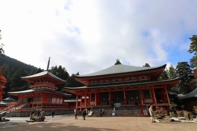 延暦寺・東塔と阿弥陀堂