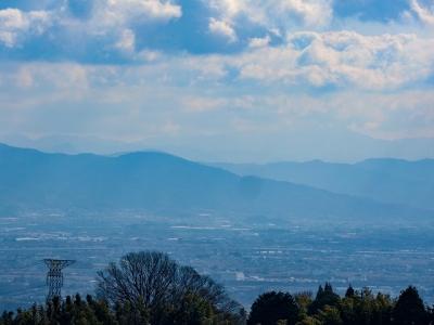 朝護孫子寺から桜井方面の眺め