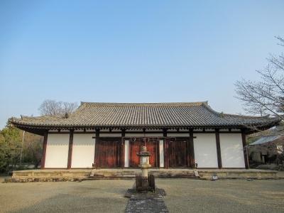 新薬師寺・本堂