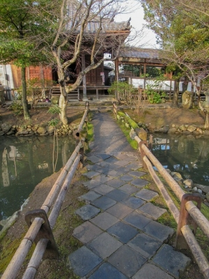 新薬師寺・織田有楽斎の庭