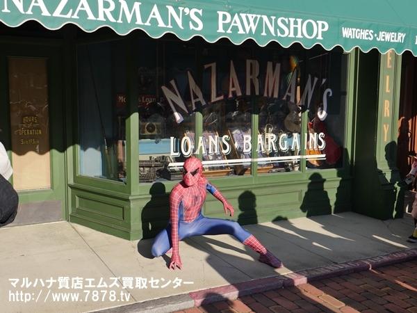usj スパイダーマン 豊橋時計買取マルハナ質店