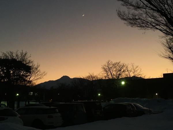 2017-12-21 夕焼け
