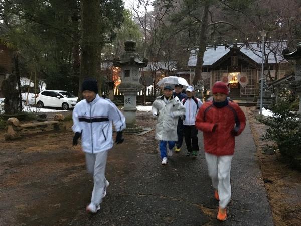 2018-01-01 初詣でラン
