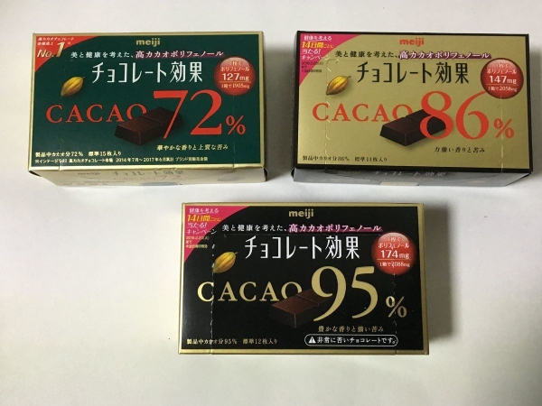 2018-01-08 チョコレート効果