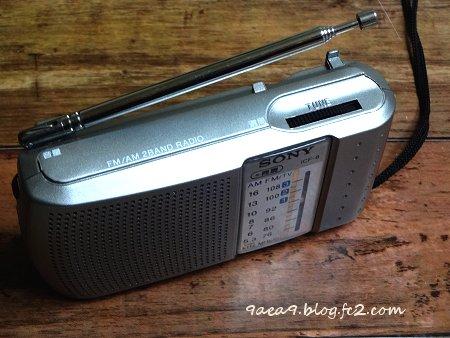 SONY ポータブルラジオ ICF-8