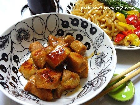 なんとなく 1-20 鶏むね肉 あっさり豚角煮風の照り焼き 3