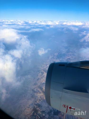 上空から見えた北国w