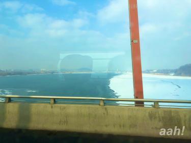 やはり川も凍るわけでして。