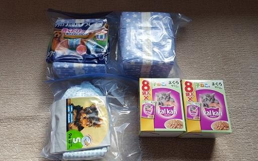 支援物資(徳島県 Eさま)シュリ