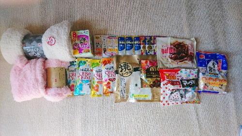 支援物資(加東市  M・アムラ、うしまる、うるる、シュシュ、アラレ)