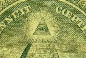 米1ドル紙幣に描かれたプロビデンスの目