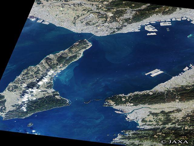 淡路島&周辺の航空写真