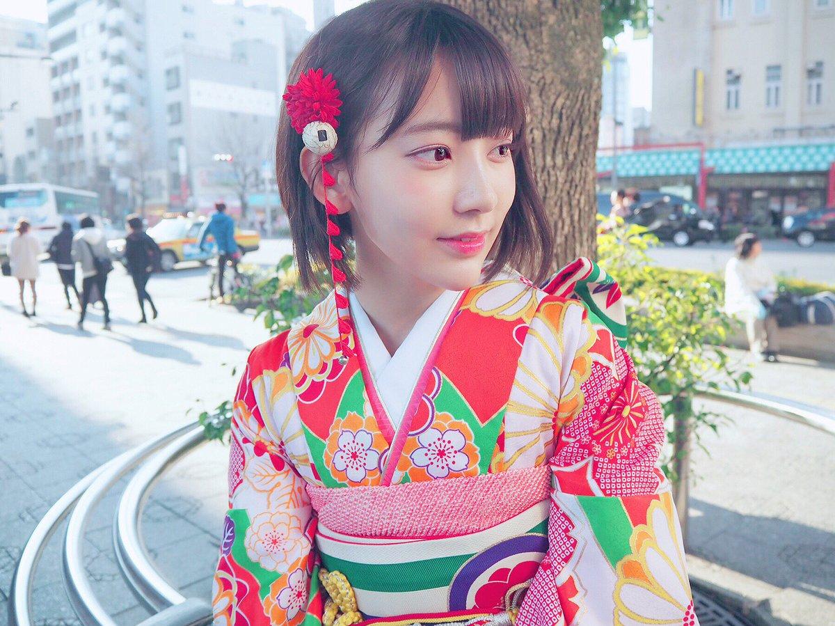 宮脇咲良 2018年 晴れ着