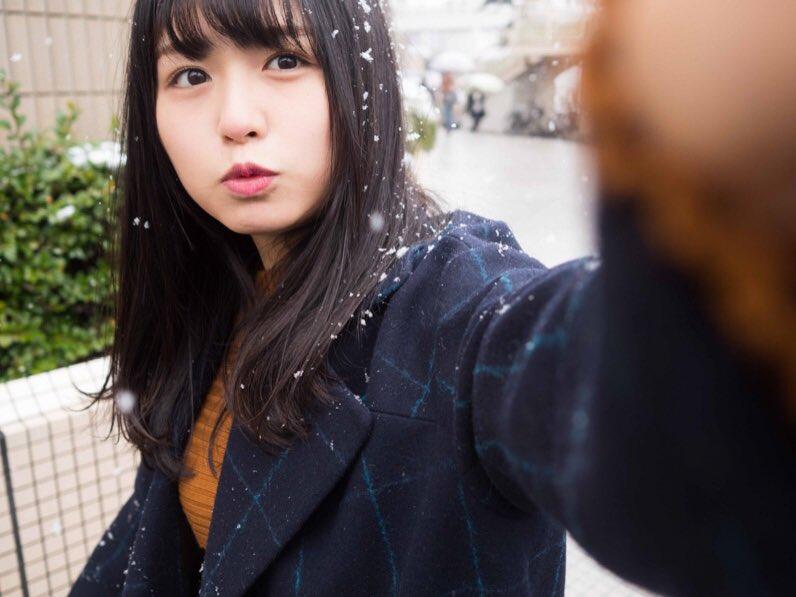 長濱ねる 雪 2018 冬 長崎 1
