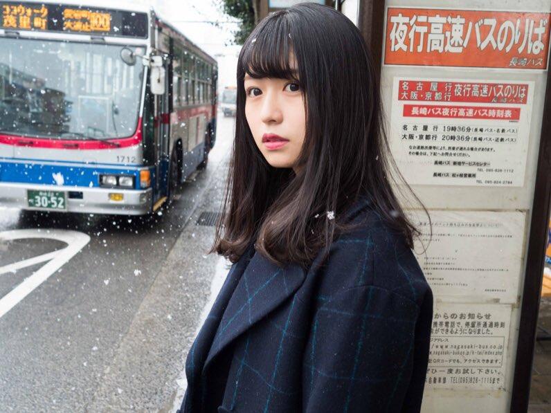 長濱ねる 雪 2018 冬 長崎 4
