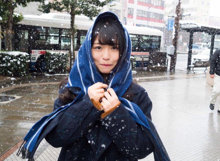 長濱ねる 雪 2018 冬 長崎 6