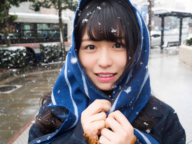 長濱ねる 雪 2018 冬 長崎 7