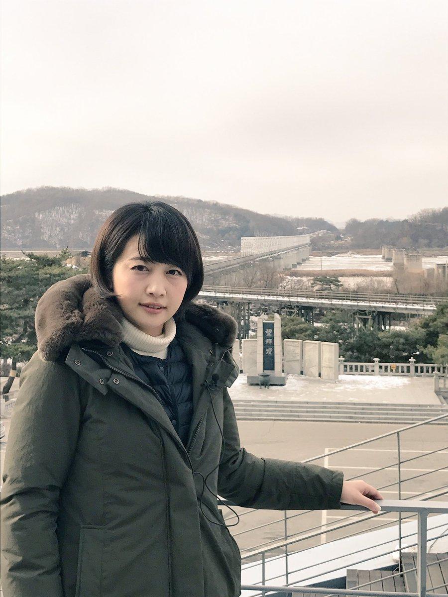 大韓民国 非武装地帯近く 冬の景色 相内