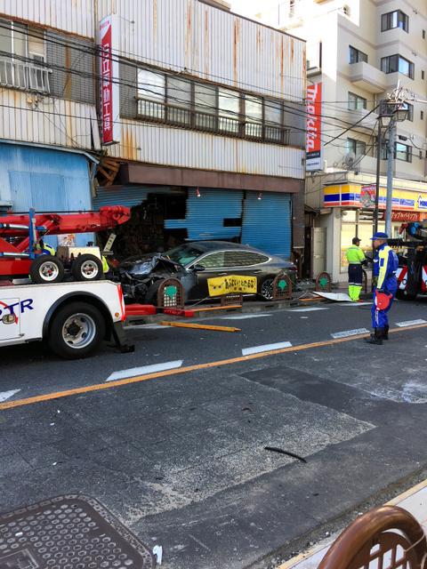 元東京地検特捜部長が運転する車にはねられ、男性死亡 2018年2月18日14時56分