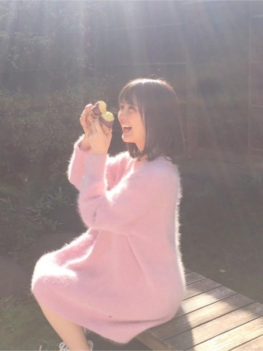 生田絵梨花 2017→2018 冬の景色 石焼き芋 1