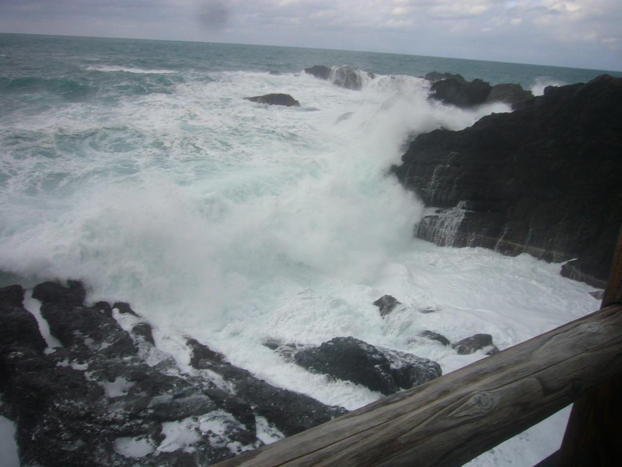 越前海岸波高し H29.12.28
