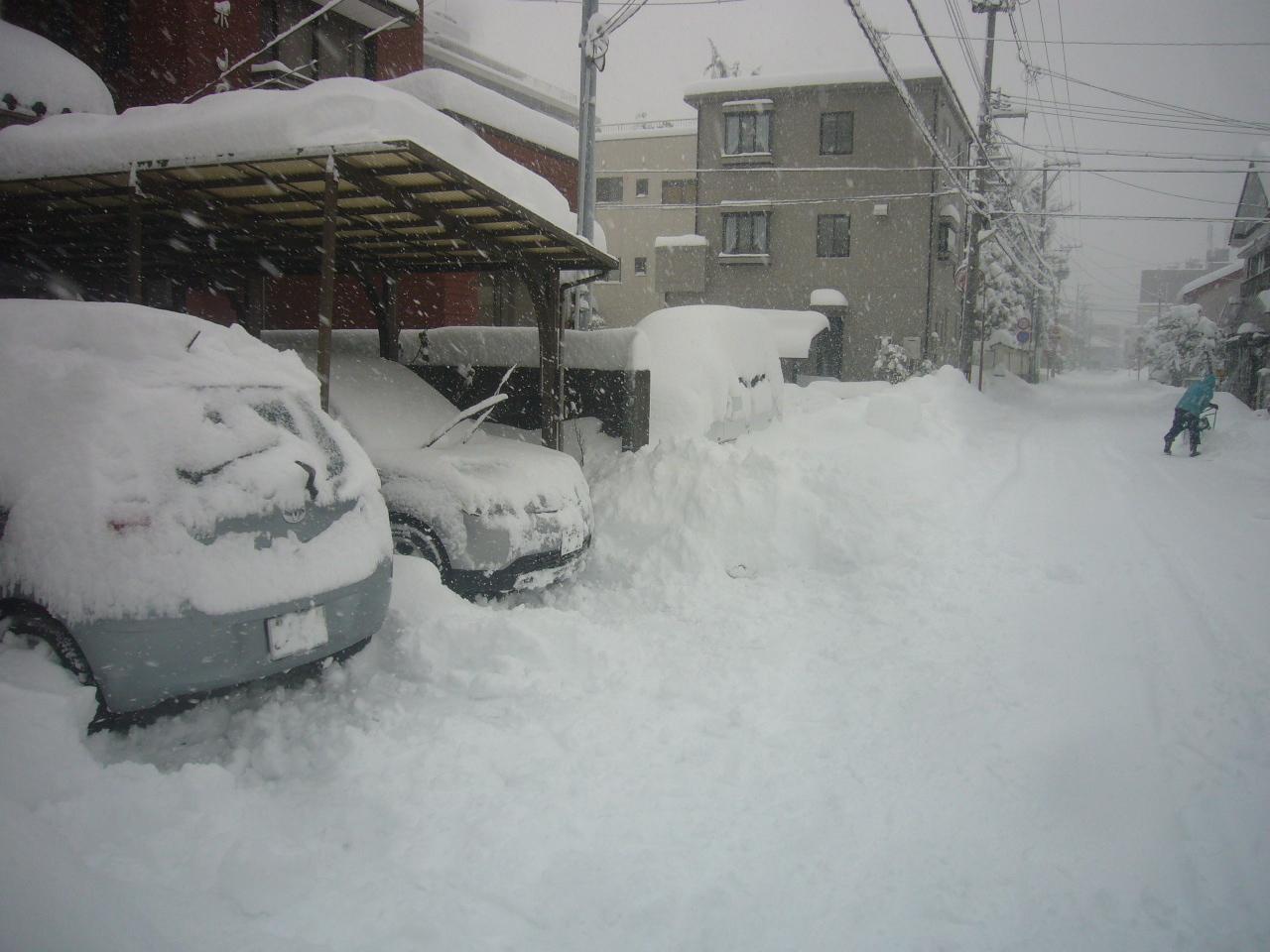 除雪済み H30.1.13