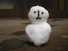 201801雪だるま