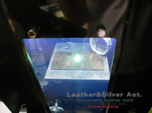 レーザー彫刻 シルバー