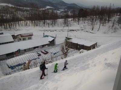 スノーシュー極寒