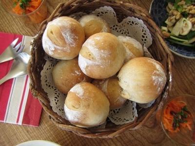 基本の丸パン