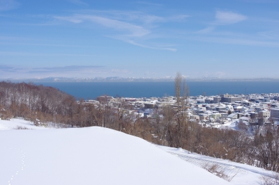 春の海の景色