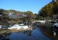 残雪の日本庭園②